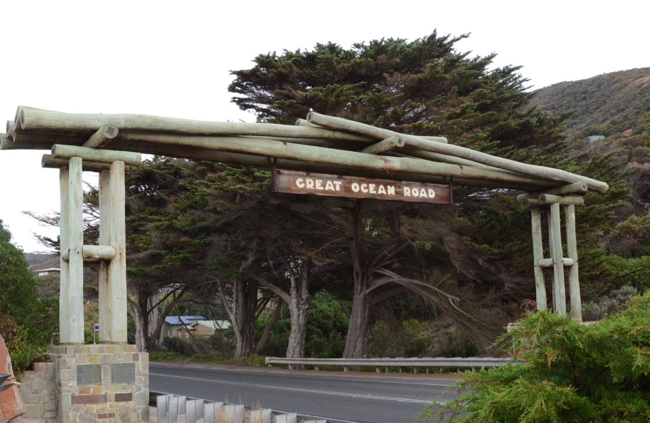 大洋路入口
